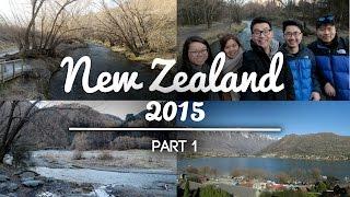NEW ZEALAND TRAVEL VLOG 2015 | QUEENSTOWN [PART 1]