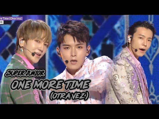 [Comeback Stage] SUPER JUNIOR -  One More Time(Otra Vez), Show Music core 20181013