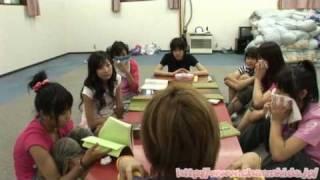 2008年8月、新潟県。チャームキッズが初めて製作する 「あぜみちジャン...