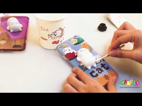 3D Cartoon Squishy Animal TPU Case for iPhone 6/6 plus/7/7 plus