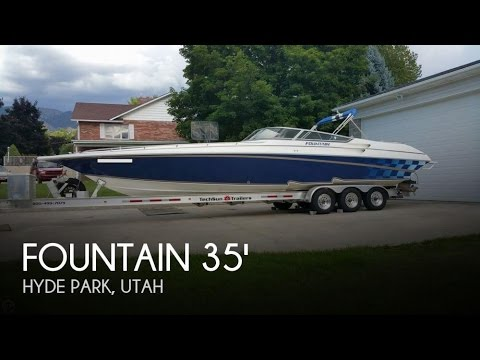 UNAVAILABLE] Used 2002 Fountain 35 Lightning in Hyde Park, Utah ...