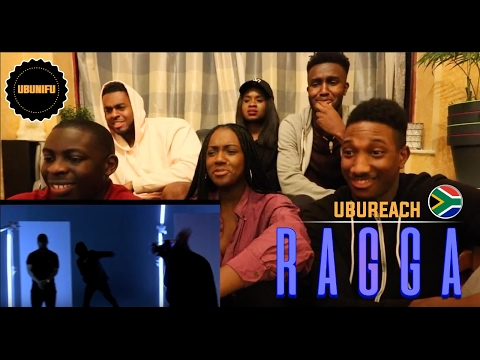 Gemini Major Ft. Riky Rick, Cassper Nyovest, Nadia Nakai - Ragga Ragga ( UK GUYS REACTION )