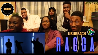 UK GUYS Reaction To ( Gemini Major Ft. Riky Rick, Cassper Nyovest, Nadia Nakai - Ragga Ragga )