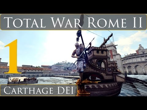 Total War Rome II Carthage DEI Campaign Part 1