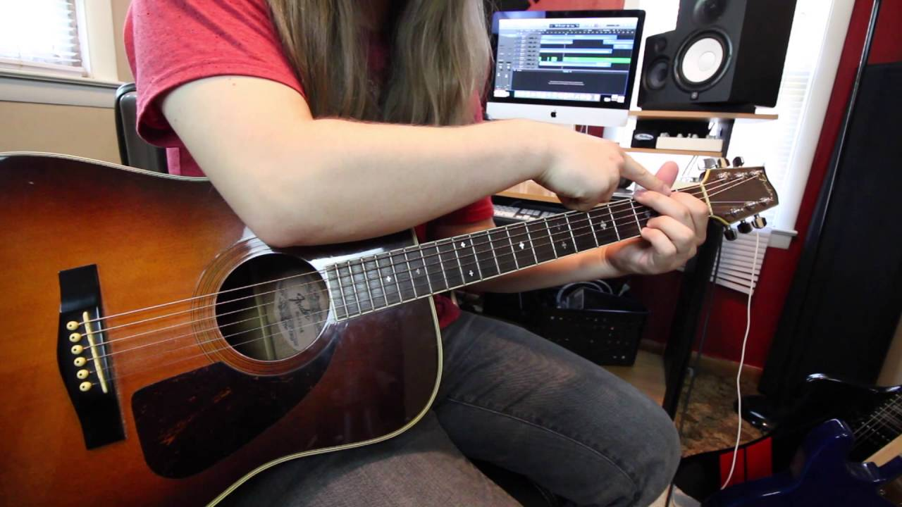 Rhythm Guitar Lesson Versatile Chord Progressions For Acoustic