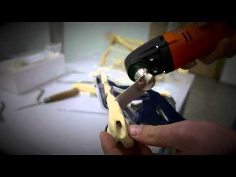 набор силовых инструментов для операций дрель осцилляторная пила трепан