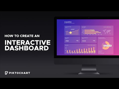 How to create an INTERACTIVE DASHBOARD