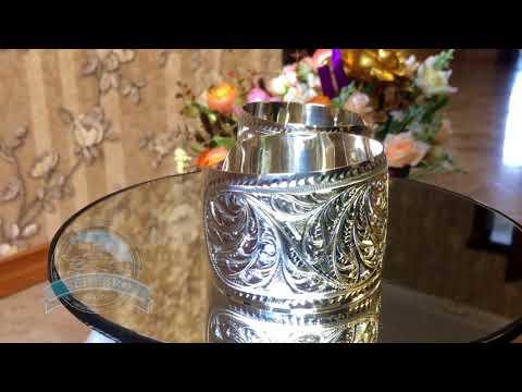 Кубачинские серебряные браслеты без черни