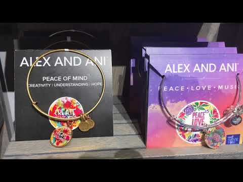Alex and Ani outlet store walk-through