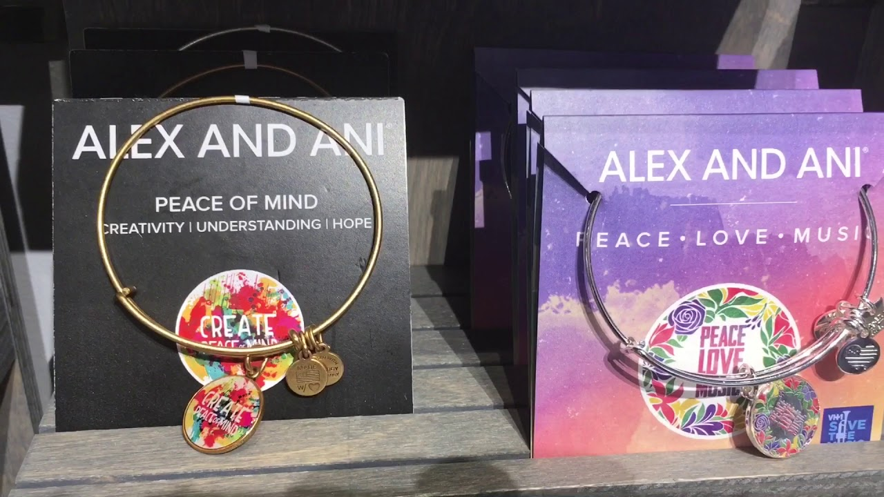 Alex And Ani Outlet Store Walk Through Youtube