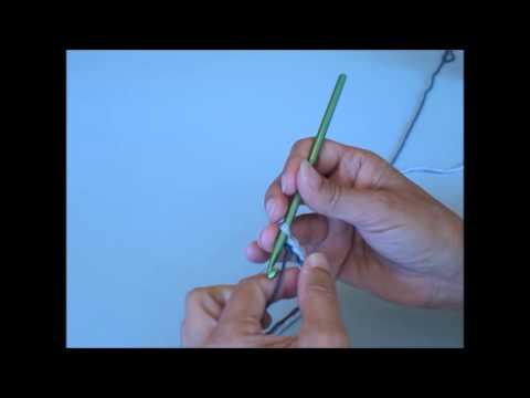 cordelette au crochet - youtube