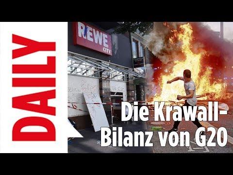 G20: Krawall-Bilanz: Wer trägt die Verantwortung? - Bild Daily Spezial live 09.07.17