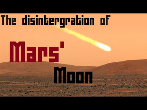 Explained: The disintegration of Mars' moon Phobos.