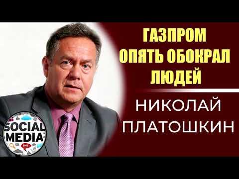 Николай Платошкин - ГАЗПРЁМ опять обокрал население России