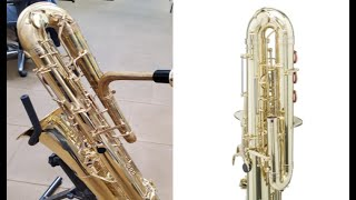 The Altarac Vent from prototype to production. Play D on Bass Saxophone with no Alternate Fingerings