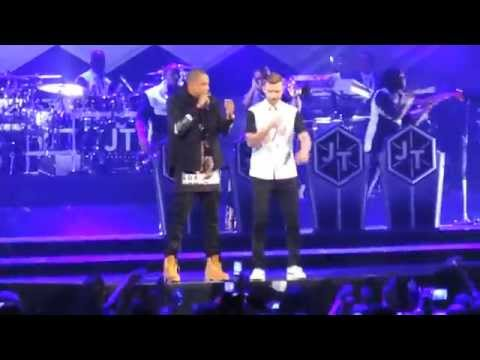 Justin Timberlake & Jay Z - Holy Grail (Live at Barclays Center)