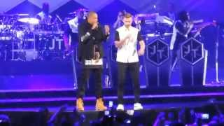 justin timberlake jay z holy grail live at barclays center