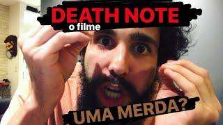 DEATHNOTE, o filme - JOGARAM O CADERNO NOS EUA (Murilo Couto rei da crítica)