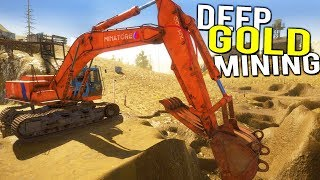 DEEP GOLD MINING With HUGE NEW EXCAVATOR! SELLING THAT MAGNETITE! - Gold Rush Full Release Gameplay