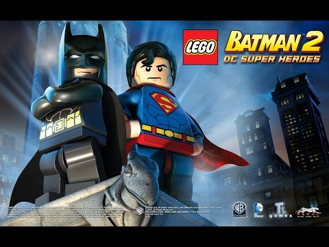 LEGO Batman 2 DC Super Heroes  - Pelicula Completa Español (Game Movie)