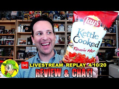 Lay's® | Kettle Cooked | FLAMIN' HOT® Review 🥔🔥 | Livestream Replay 4.10.20 | Peep THIS Out!