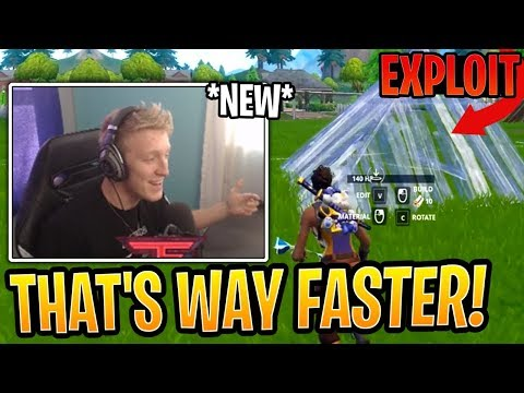 Tfue SHOCKED at *NEW* Pyramid BHop Exploit He Found! - Fortnite Best and Funny Moments