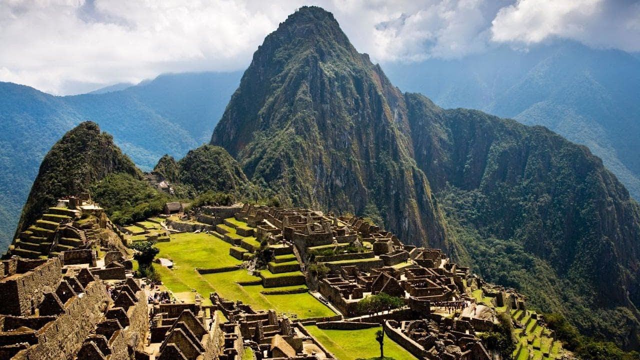 Beautiful Place Of Machu Picchu Peru Amazing Nature