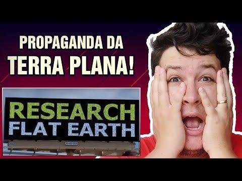"""Propaganda da """"Teoria da Terra Plana"""" em Letreiro nos EUA Causa Polêmica! (#191 M. Assombrado)"""