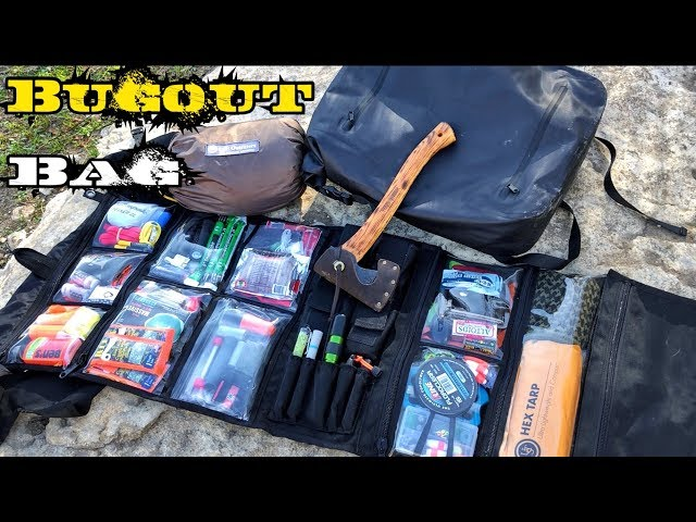 My Grayman 7 Day Bug Out Survival Bag - Feb 2018