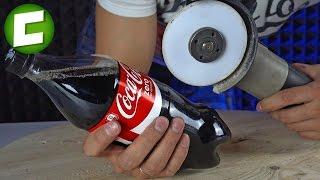 Можно бумагой разрезать Кока Колу?