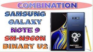 COMBINATION N960N U2 / SAMSUNG NOTE 9