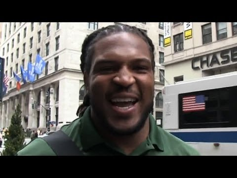 Jarvis Jones Gets the Subway Black Card! | TMZ