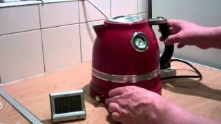 Kettle demonstration(KitchenAid Artisan Kettle)model 5KEK1522BER.