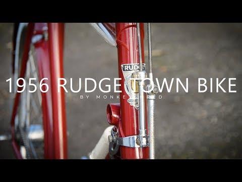 1956 Rudge Town Bike - Vintage Bicycle Restoration - 95% Complete
