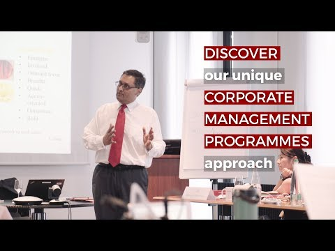 The Corporate Management Programme