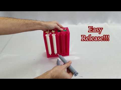 Easy Taper Candles with the Mighty Molds Taper Candle Mold
