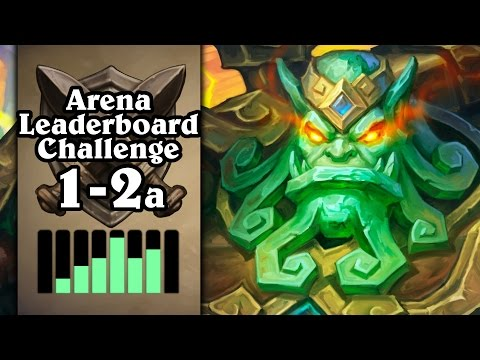 Hearthstone: Arena Leaderboard Challenge 1-2 - The Jade is Real - Part 1 (Druid Arena)