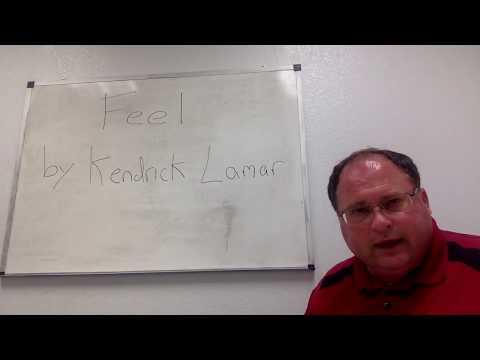 THERAPIST SPEAKS ON KENDRICK LAMAR 'FEEL'   THERAPY BREAK DOWN