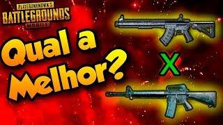 MK47 Mutant X M16A4   Qual a MELHOR?? - Teste COMPLETO! - *PUBG Mobile* Dicas!