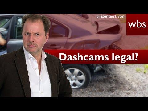 Sind illegale Dashcam-Aufnahmen vor Gericht zulässig? - BGH-Grundsatzurteil | RA Solmecke