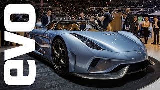 Koenigsegg Regera at Geneva 2015 | evo MOTOR SHOWS