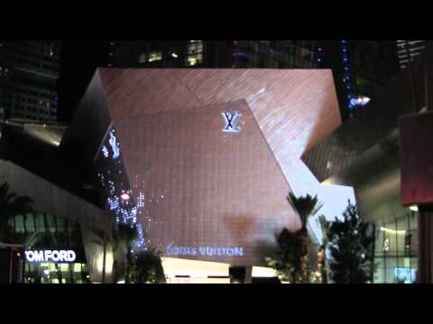 Louis Vuitton store in Crystal, City Center Las Vegas