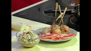 Салат из сельди + рыба во фритюре / рецепты от шеф-повара / Илья Лазерсон / Кулинарный ликбез