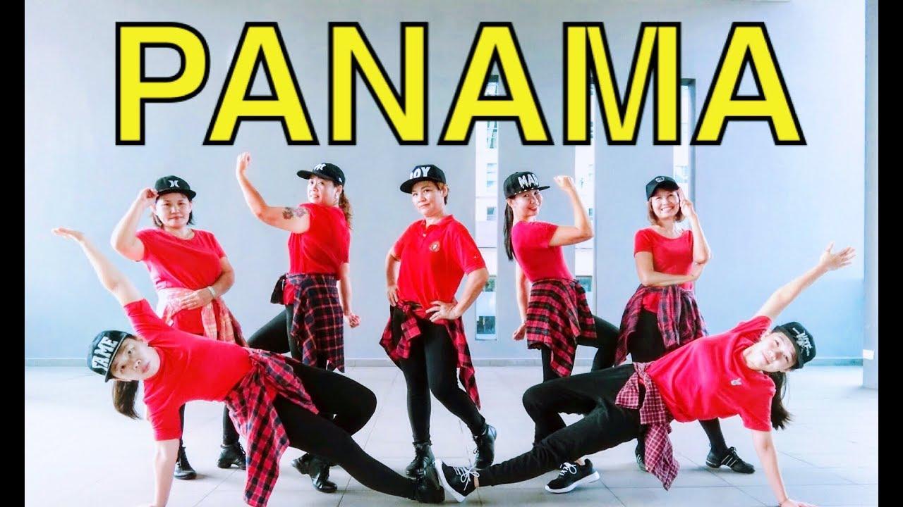 C哩C哩 Panama (Matteo) Jenny Lim 广场舞 @ 蓉蓉欢乐广场排舞舞蹈班