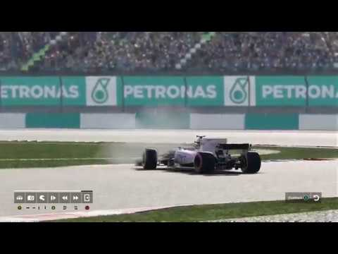 F1 2017 Career mode part 15 Malaysia CRAZY GRID & STRATEGIES