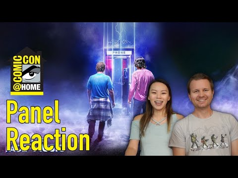Bill & Ted Face The Music SDCC @ Home Panel // Reaction & Review