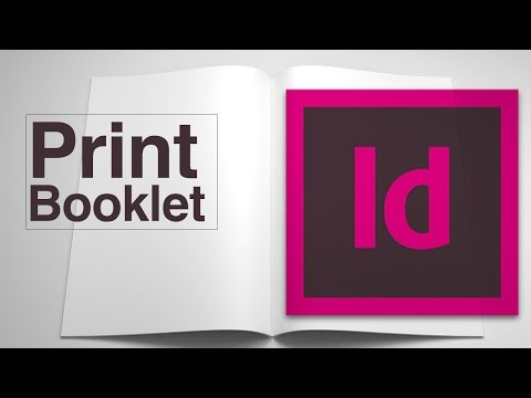 How to rearrange pages into a foldable booklet? Indesign CC Print Booklet Distiller Magazine Spreads
