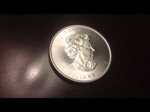 Now time to buy Canadian Silver Maple Leaf coins