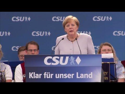 """Bundeskanzlerin Angela Merkel: """"Wir müssen selber für unsere Zukunft kämpfen"""""""