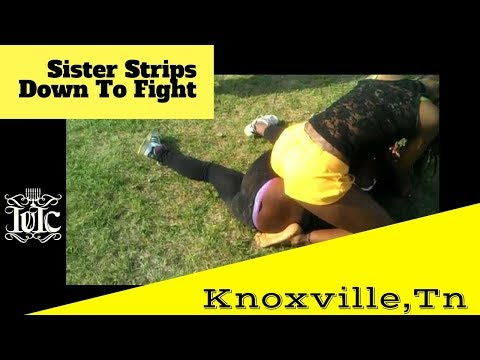The Israelites:  Black Woman Strips Down To Fight In Knoxvil